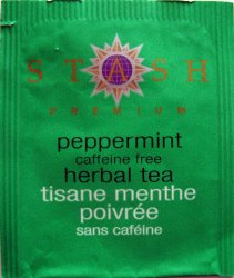 Stash Premium Herbal Tea Peppermint Caffeine free - a
