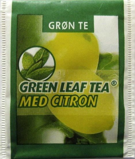 te med citron